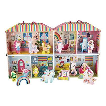 Floss and Rock Rainbow Fairy Play Box
