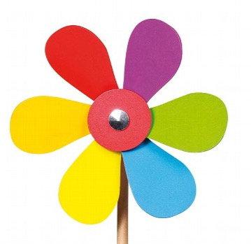 Goki- Wooden Flower Windmill