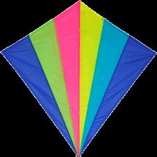 Spirit of Air - Neon Rainbow Kite