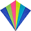 Thumbnail: Spirit of Air - Neon Rainbow Kite