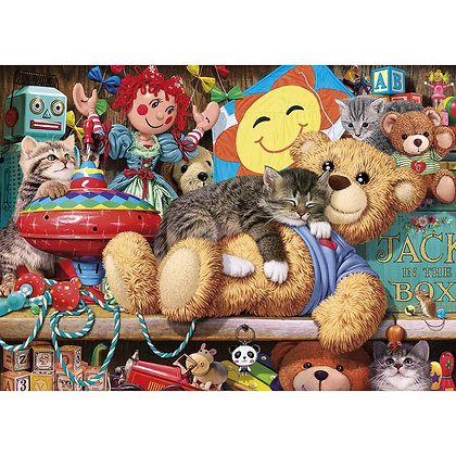 Gibsons Jigsaw - Snoozing on the Ted (1000 pieces)