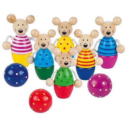 Goki- Mice Skittle Game
