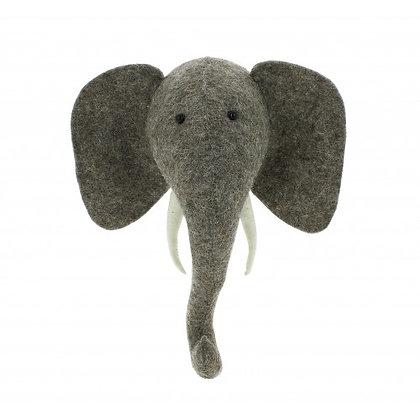 Fiona Walker Elephant Head (Mini)