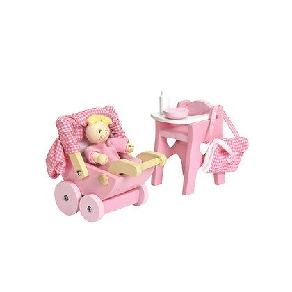 Le Toy Van Nursery And Baby Set