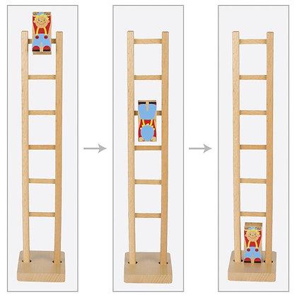 Goki- Clown on a Ladder
