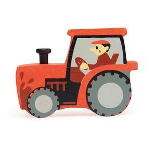Tender Leaf Tractor Stacker