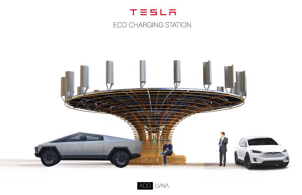 Tesla Eco Charging