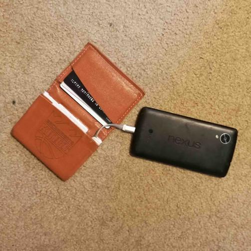 Battery Wallet