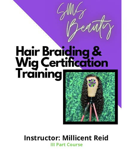 SMS Beauty Hair Braiding & Wig Installation eBook