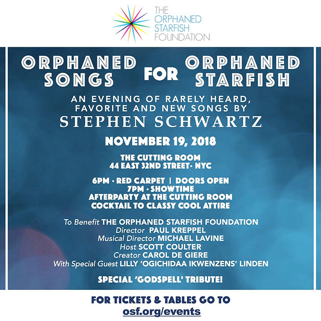 ORPHANED SONGS FOR ORPHANED STARFISH | Foundation | The Orphaned
