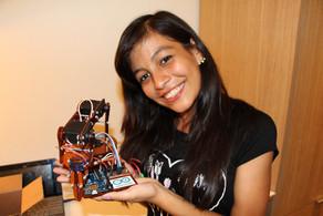 LAURA & HER ROBOT!