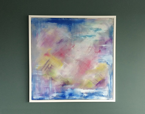 'Pink Opaque'- Original artwork by Laura J Brown