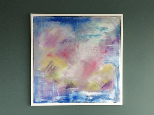 'Pink Opaque'- Original artwork by Laura J Brown