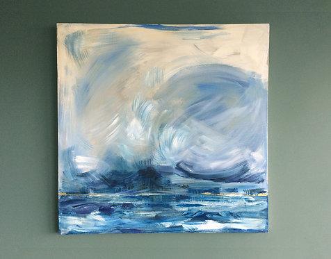 'The Sea, the Sea' - Original artwork by Laura J Brown