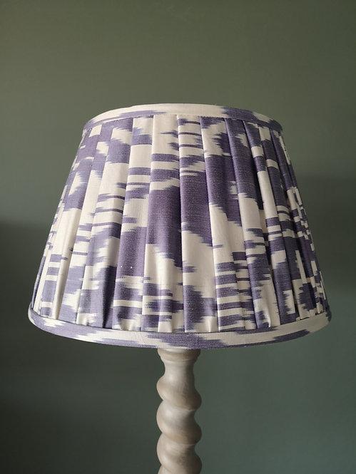 Blue and White Handmade Lampshade