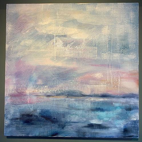 'Northern Light 1' - Original artwork by Laura J Brown