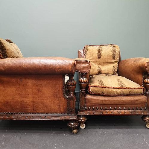 Vintage Club Armchairs