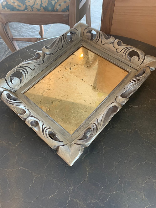 Gold French Mirror Tray