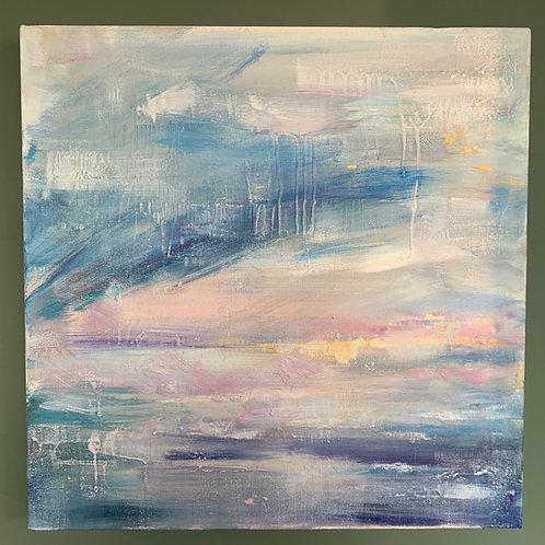 'Northern Light 2' - Original artwork by Laura J Brown
