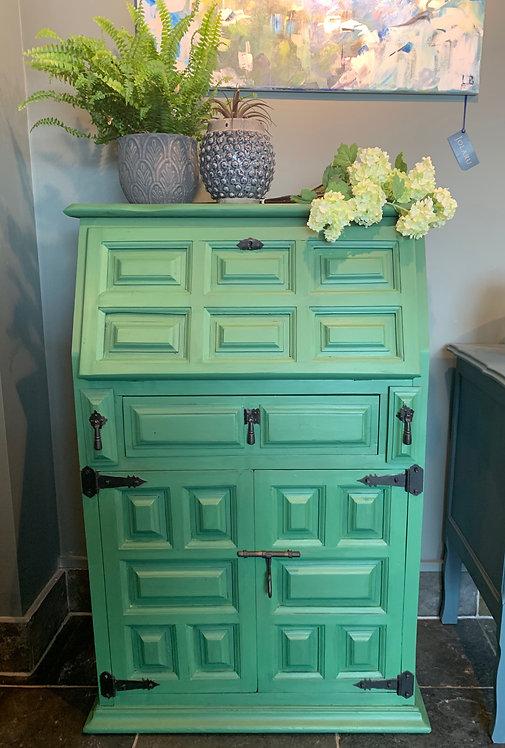 Green Writing Cabinet