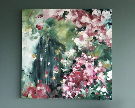 'Cherry Blossom Pink' - Original artwork by Laura J Brown