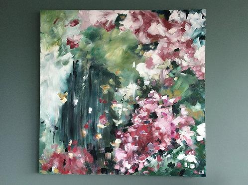 'Cherry Blossom Pink' - Original artwork by Laura J Brown