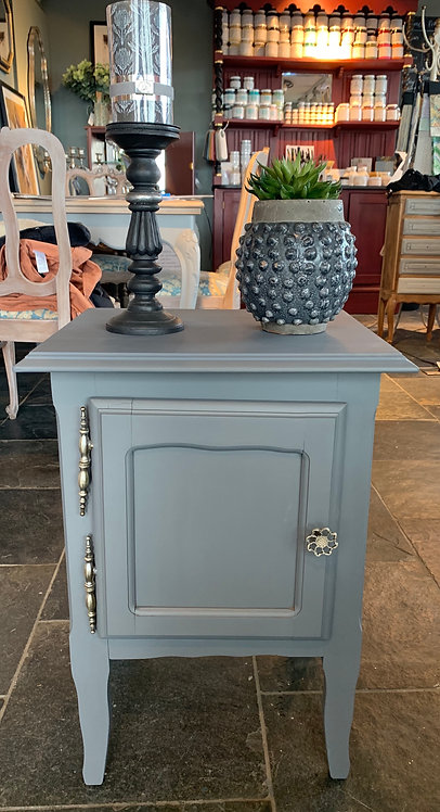 Small Grey Cabinet