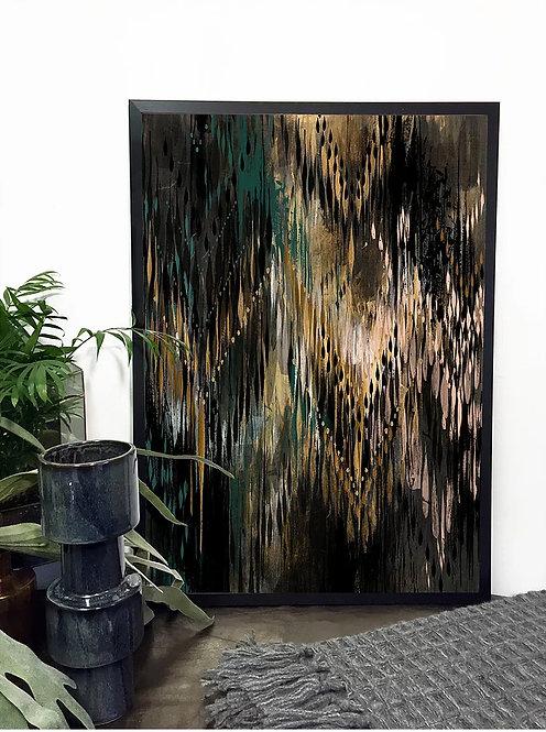 'Thea' - Giclée print by Surfacephilia