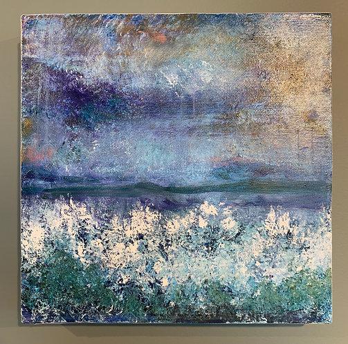 'Sea Spray' - Original artwork by Laura J Brown