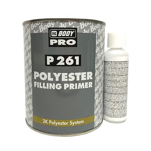 HB Body - 261 Polyester Spray Filler 1L