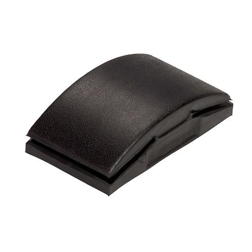 Soft Black Rubber Sanding Block 70 x 125mm - FMT9060
