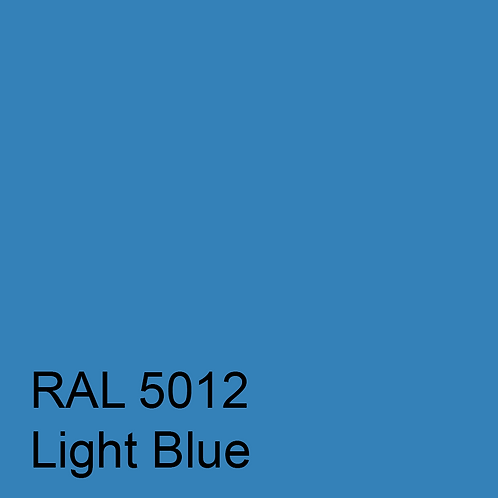 RAL 5012 - Light Blue