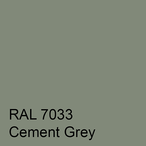 RAL 7033 - Cement Grey