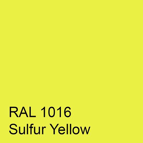 RAL 1016 - Sulfur Yellow