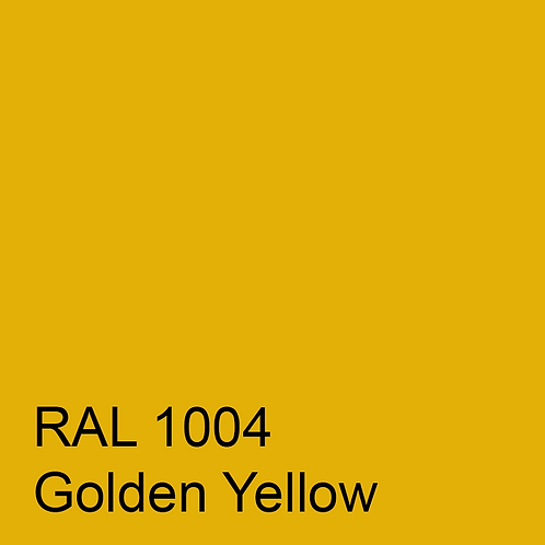 RAL 1004 - Golden Yellow