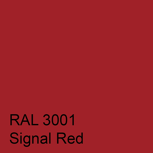 RAL 3001 - Signal Red