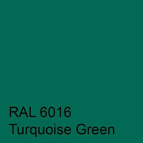 RAL 6016 - Turquoise Green