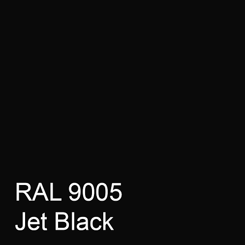 RAL 9005 - Jet Black