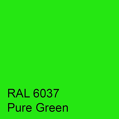 RAL 6037 - Pure Green