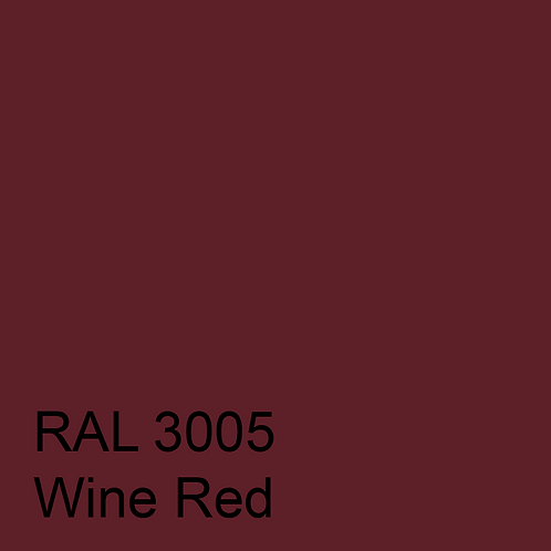 RAL 3005 - Wine Red