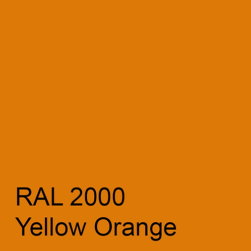 RAL 2000 - Yellow Orange