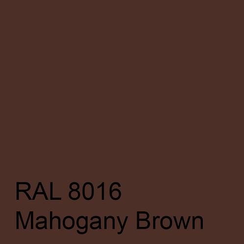 RAL 8016 - Mahogany Brown