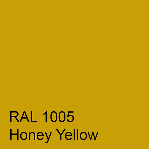 RAL 1005 - Honey Yellow