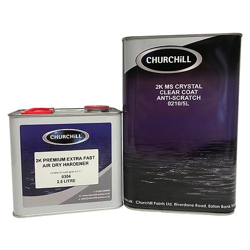 Churchill - 7.5L 2K MS Crystal Clear Anti-Scratch