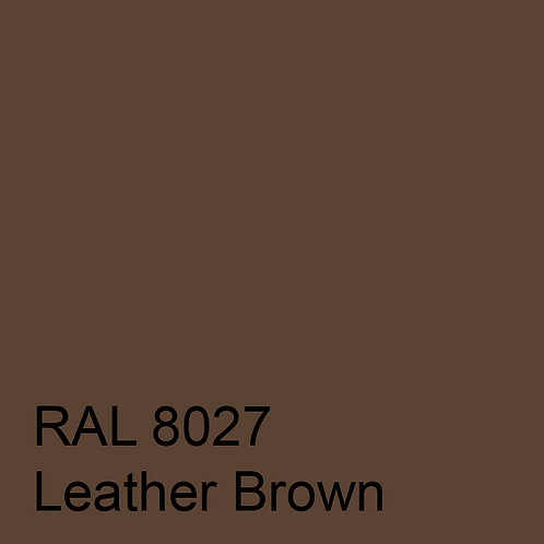 RAL 8027 - Leather Brown