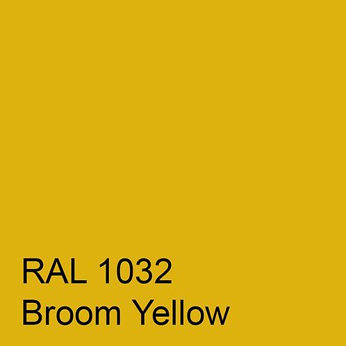 RAL 1032 - Broom Yellow