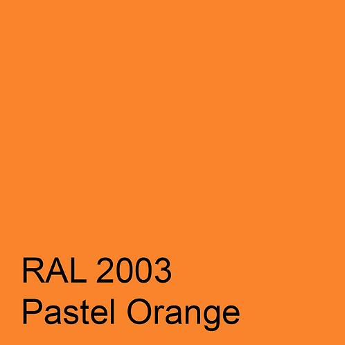 RAL 2003 - Pastel Orange