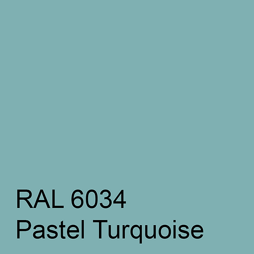 RAL 6034 - Pastel Turquoise