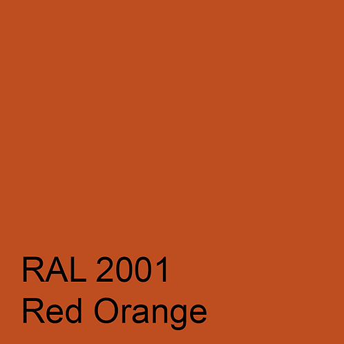 RAL 2001 - Red Orange