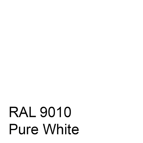 RAL 9010 - Pure White